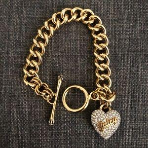 Juicy Couture Pave Heart Bracelet